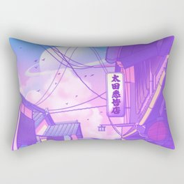 City Pop Kyoto Rectangular Pillow