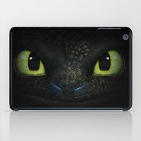 hiccup iPad Cases featuring Toothless  by aleha