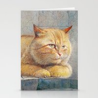 ginger Stationery Cards featuring Ginger by irshi