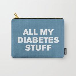 All My Diabetes Stuff (Niagara) Carry-All Pouch