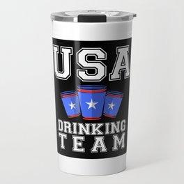 USA Drinking Team Travel Mug