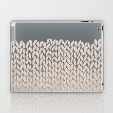 Half Knit Ombre Nat Laptop & iPad Skin