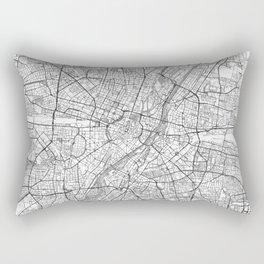 Munich Map Line Rectangular Pillow
