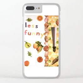 Tropical Fruit Punch in the Gut Clear iPhone Case