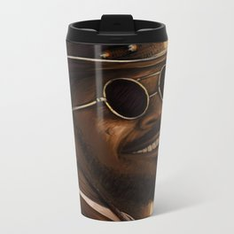 Django - Our newest troll Metal Travel Mug