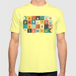 Illustrated Alphabet T-shirt