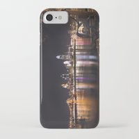 cincinnati iPhone & iPod Cases featuring Cincinnati Glow by Stacey Cat