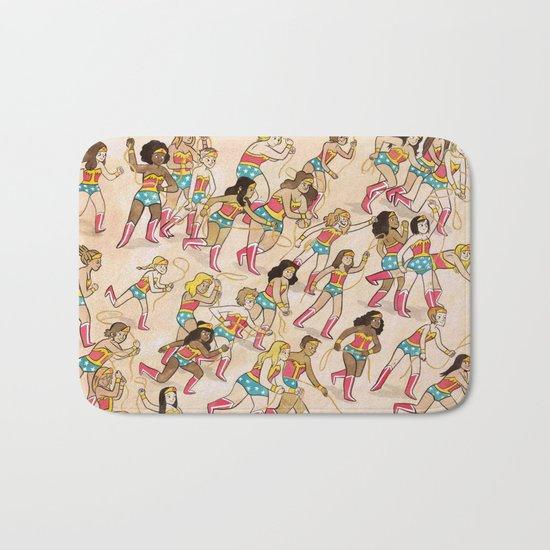 Wonder Women! Bath Mat