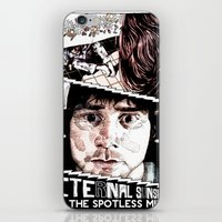 eternal sunshine of the spotless mind iPhone & iPod Skins featuring Eternal Sunshine of the Spotless Mind by Aaron Bir by Aaron Bir