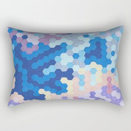 Nebula Hex Rectangular Pillow
