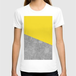 Geometry 101 Vivid Yellow T-shirt