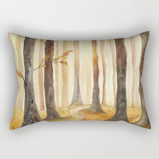Track 18: Spirit of the Forest Rectangular Pillow