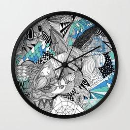 Schadenfreude Wall Clock