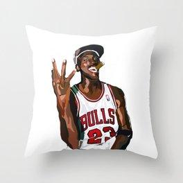 MJ Throw Pillow
