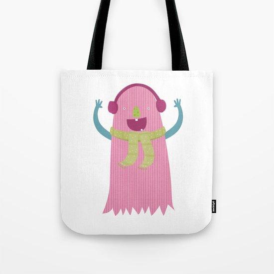 PINK MONSTER Tote Bag
