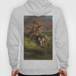 "Eugène Delacroix ""The Education of Achilles"" Hoody"