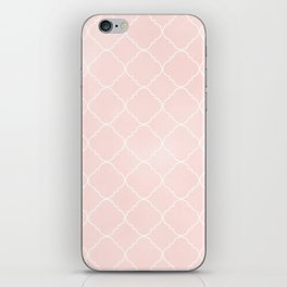 Pink Coral Moroccan iPhone Skin