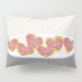 Independent donut hearts Pillow Sham
