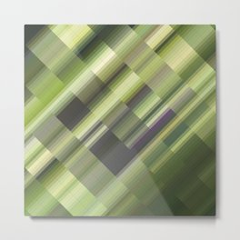 Taiga Siberia. Abstract gradient art geometric background with soft color tone, cell grid. Ideal for Metal Print