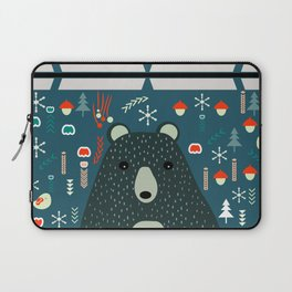Bear Christmas decoration Laptop Sleeve