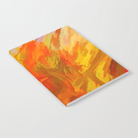 Vibrant Summer Notebook