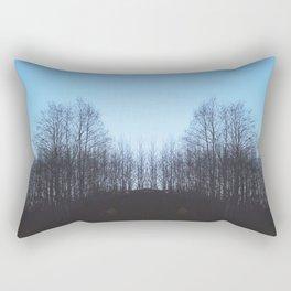 Evening Sillouette Rectangular Pillow