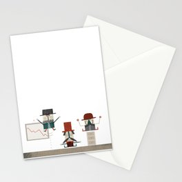 Quiet in the office Stationery Cards
