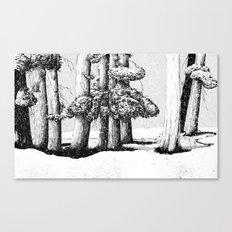 Tree Scene Canvas Print