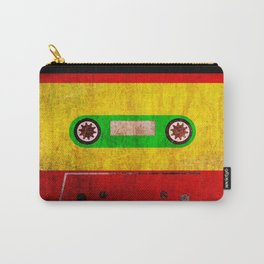 Reggae Cassette Tape Grunge Vintage Retro Carry-All Pouch