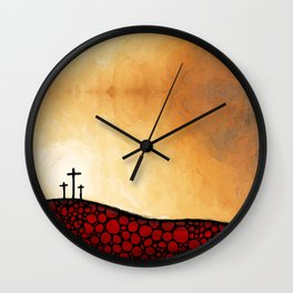 Forgiven - Christian Art By Sharon Cummings Wall Clock