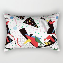 Postmodern Dinner Plates Rectangular Pillow