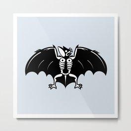 Magick Bat Metal Print