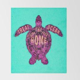 ocean omega (variant) Throw Blanket