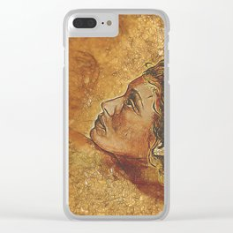 Yearning~ Woman Clear iPhone Case