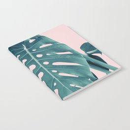Monstera Delight #3 #tropical #decor #art #society6 Notebook
