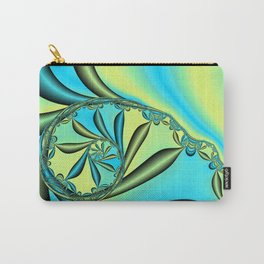 River Vine Fractal Carry-All Pouch