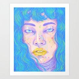 Malvina Art Print