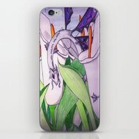 tina fey iPhone & iPod Skins featuring Little Fey Dragon by phoenixoftheashes