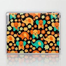 Stylized Elephant Children's Pattern Laptop & iPad Skin