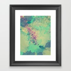 Little golden fish Framed Art Print