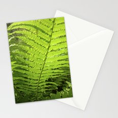 green fern leaf XXVI Stationery Cards