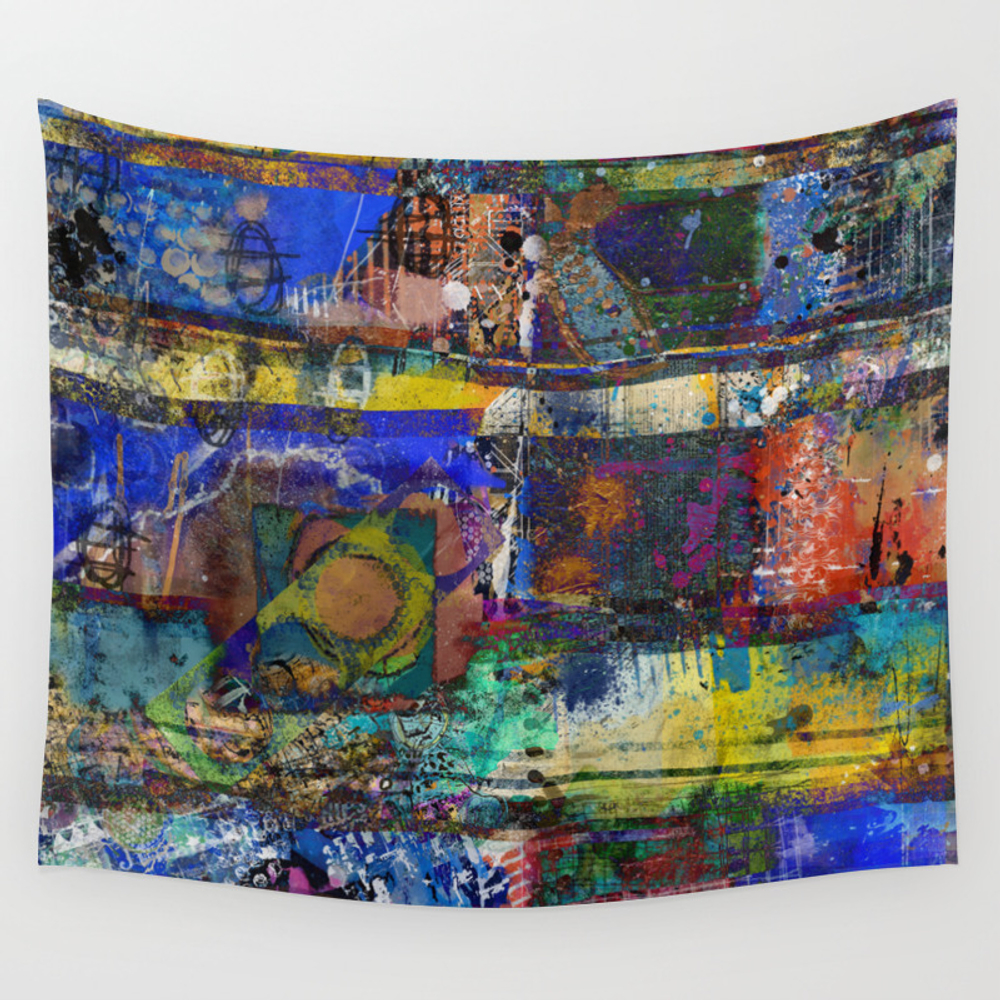 Life In Full Color Wall Tapestry by Designingnola TPS6691042