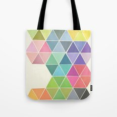 Fragmented Tote Bag