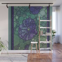 Percolated Purple Potato Flower Wall Mural