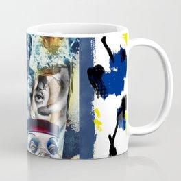 Cracked Man in the Funhouse Coffee Mug
