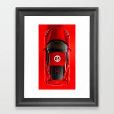 Super Car 05 Framed Art Print