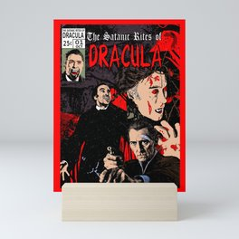 The Satanic Rites of Dracula Mini Art Print