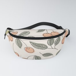 Cherry Seamless Pattern Fanny Pack