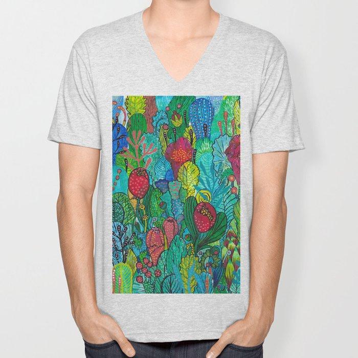 Kingdom of Plants Unisex V-Neck