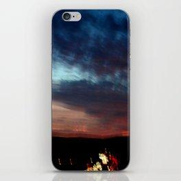 Night Lights Moving Sunset 30 iPhone Skin